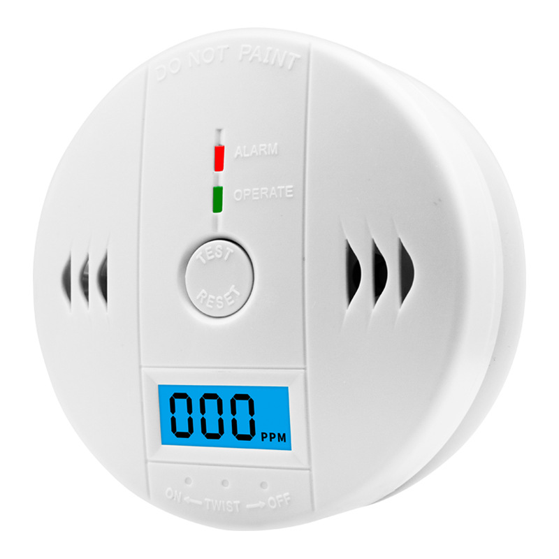 Home Carbon Monoxide Alarm CO Detector Toxic Gas Leak Detector Honeycomb Coal Alarm Smoke Leak Test Device Manufacture Supply