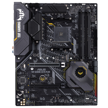 ASUS TUF X570-PLUS GAMING  desktop computer game board X570 motherboard with R7 3700X 1