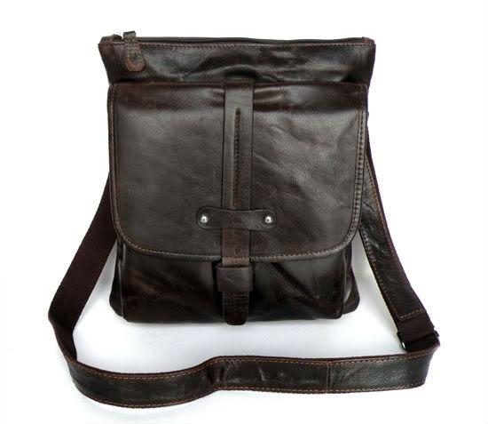 ФОТО High Quality Hot Sale Vintage 100% Guarantee Genuine Leather JMD Men Messenger Bags Shoulder Bags 7045Q