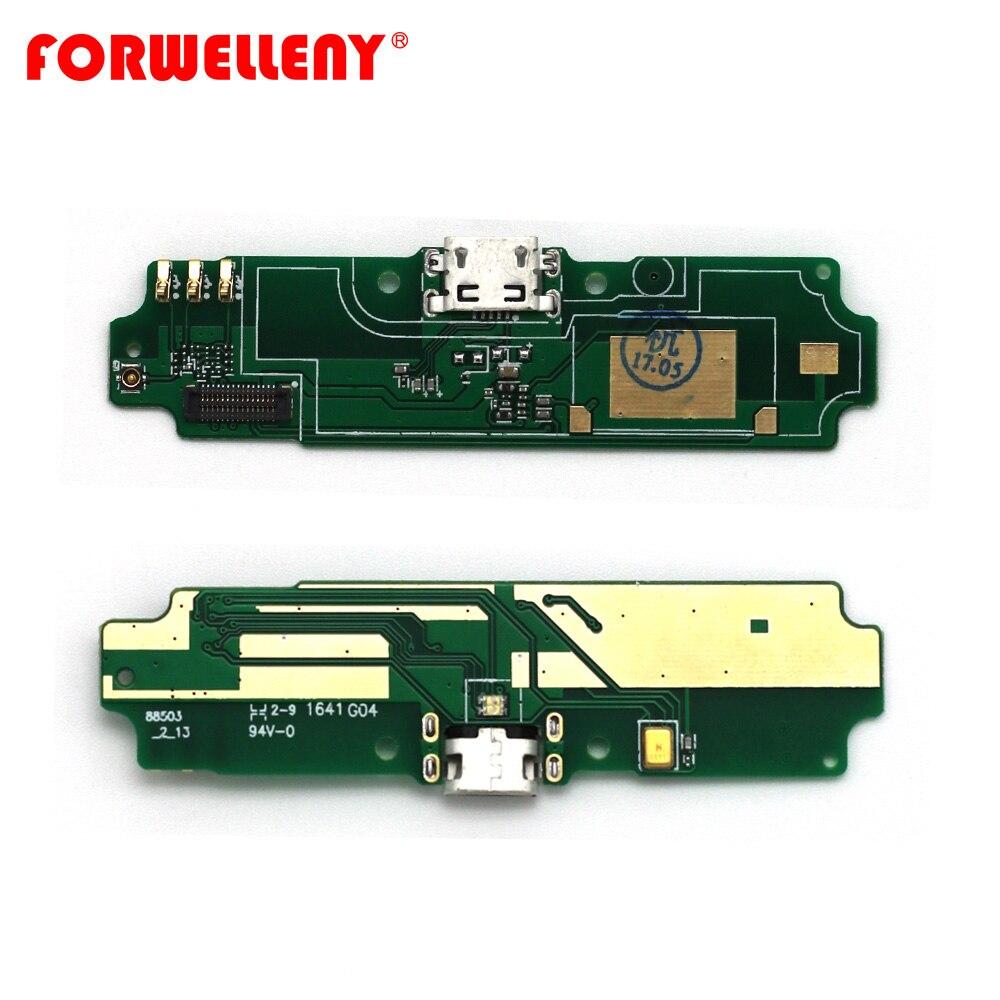 Pour xiaomi redmi 4A USB chargeur de charge port conseil PCB circuits fond conseil pièces de rechange avec mic