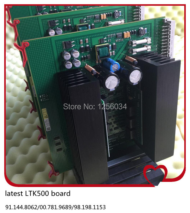 2 pieces LTK500 Heidelberg card LTK500-2 91.144.8062/00.781.9689/98.198.1153/00.785.0392/08, 91.144.8062/06, 00.785.0392