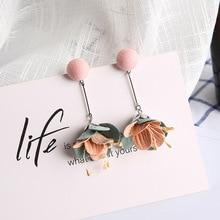 Elegant Flower Tassel Earrings