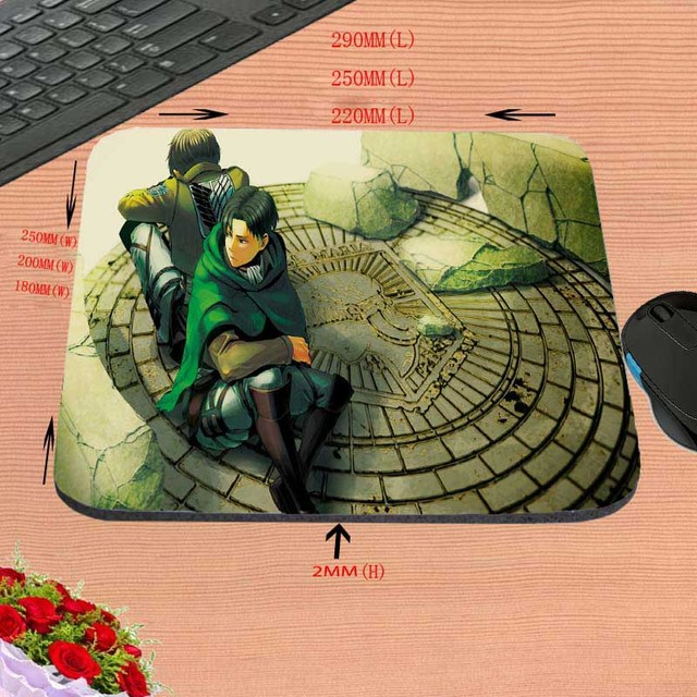 Anime Attack On Titan Mouse Pad