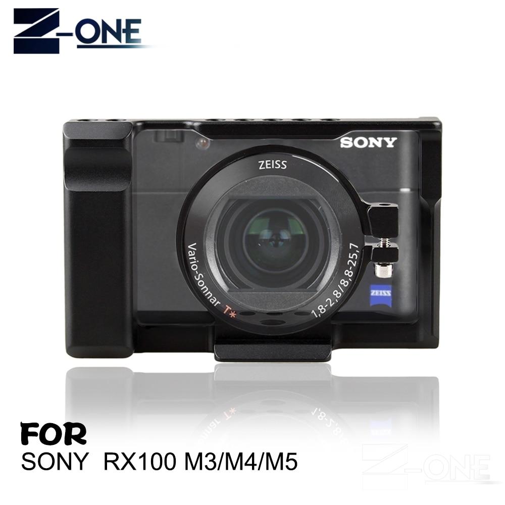 Coogens RX100 Cage en alliage d'aluminium pour Sony RX100 III IV V stabilisateur de caméra pour RX100 M3 M4 M5