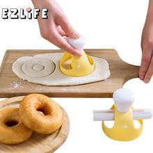 EZLIFE креативные DIY формы для пончиков инструменты для украшения торта десерты хлебопечки принадлежности для выпечки кухонный инструмент CHW7357