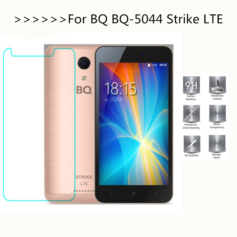 2.5D 0.26mm 9H Premium Tempered Glass For <font><b>BQ</b></font> <font><b>5044</b></font> bqs <font><b>BQ</b></font>-<font><b>5044</b></font> Strike LTE <font><b>Screen</b></font> protector protective Lcd Film Guard image