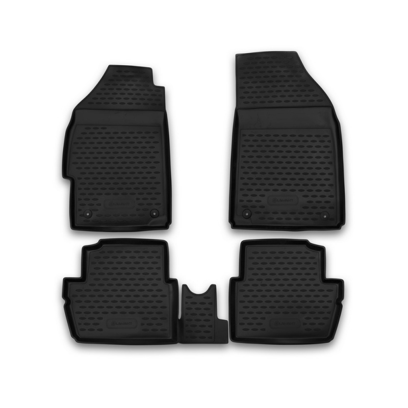 Mats in the salon For CHEVROLET Spark 2010->, 4 PCs (polyurethane) mats in salon сртк chevrolet еpikа 09 rubber ch ep 06 10 g 02043