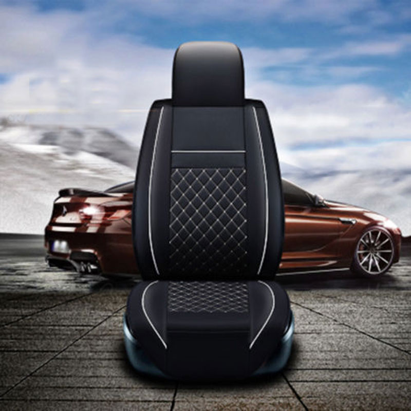 Car support for TOYOTA Corolla RAV4 Highlander PRADO Yaris Prius Camry leather car seat cover front and back set car cushion universal pu leather car seat covers for toyota corolla camry rav4 auris prius yalis avensis suv auto accessories car sticks