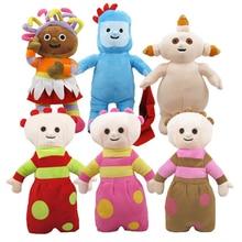"""1"""" высота милые мягкие и плюшевые игрушки куклы в ночном саду 6 предметов в наборе/Лот"""