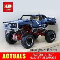 Лепин 20011 1605 шт. техника серии супер классический Ограниченная серия внедорожников модель строительные блоки кирпичи игрушки 41999