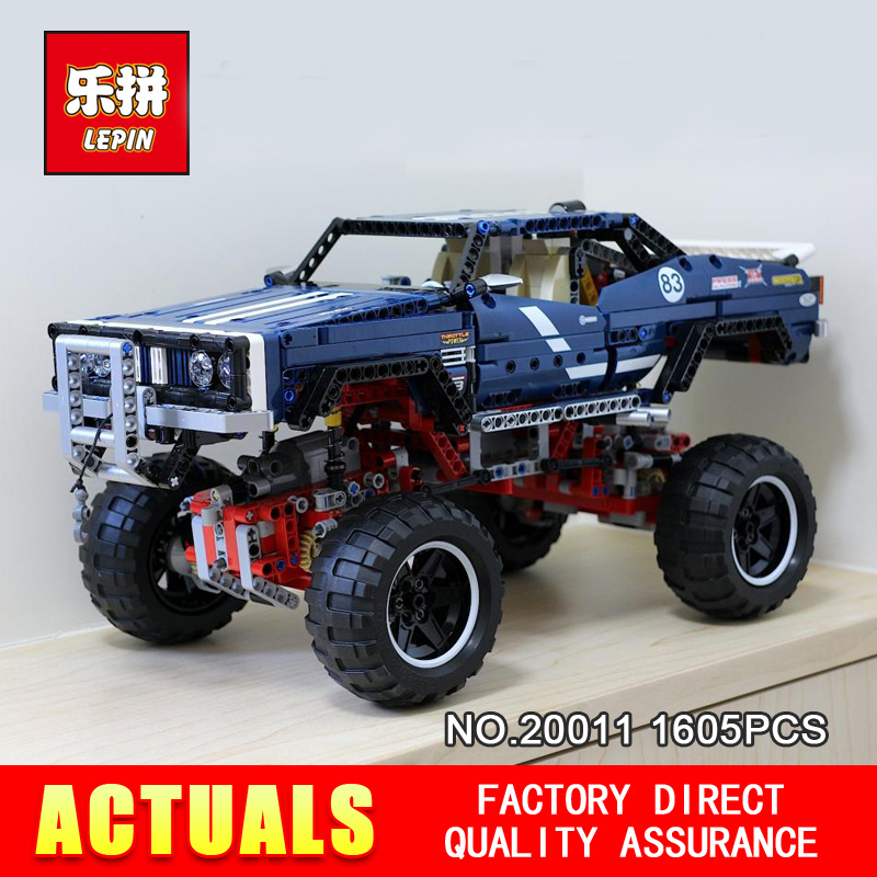 LEPIN 20011 1605 pièces la série Technic Super classique édition limitée de modèles de véhicules tout-terrain briques jouet 41999