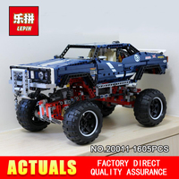 LEPIN 20011 1605Pcs the Technic series Super classic limited edition of off road vehicles Model Building blocks Bricks Toy 41999