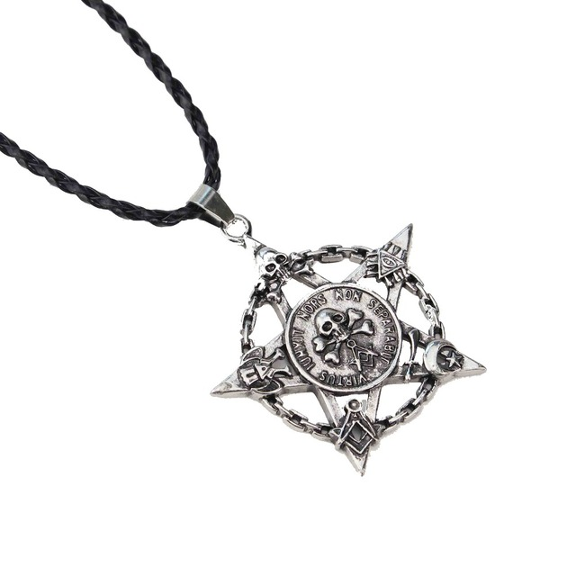 Pirates of the caribbean necklace jack sparrow aztec coin medallion pirates of the caribbean necklace jack sparrow aztec coin medallion vintage silver skull star coin pendant aloadofball Images
