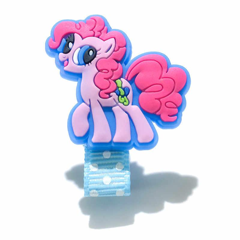 8 teile/los My Little Horse Einhorn Haar Clips Haarnadel Baby Headwear Kinder Haar Zubehör Kinder Haarspange als Mädchen Beste Geschenk