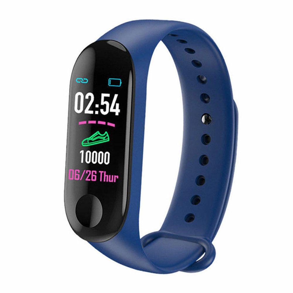 Health Fitness Tracker Blood Pressure IPS Screen Message Outdoor Bracelet Smart Wristband Heart Rate Monitor Multifunctional
