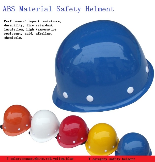 ABS Material hitting proof safety helmets Construction site safety protective helmet