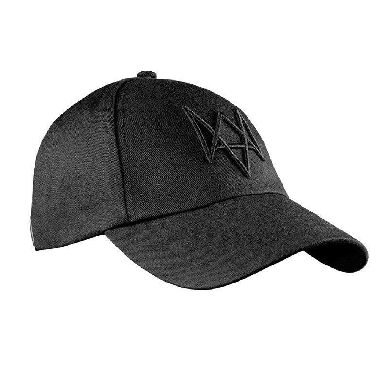 Watch Dogs Aiden Pearce Hat бейсболки Косплей костюмная палочка и маска для лица - Цвет: cap