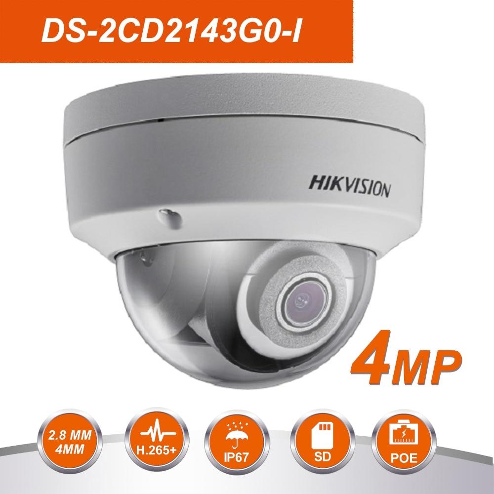 HIK D'origine DS-2CD2143G0-I 4MP Réseau caméra dôme de Sécurité mise à niveau du système DS-2CD2142FWD-I moniteur d'intérieur