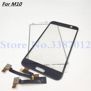 Image 1 - 5.2 بوصة لوحة اللمس لمس ل HTC واحد M10 محول الأرقام بشاشة تعمل بلمس الجبهة الزجاج قطعة بديلة لمستشعر أجزاء