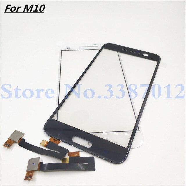 5.2 بوصة لوحة اللمس لمس ل HTC واحد M10 محول الأرقام بشاشة تعمل بلمس الجبهة الزجاج قطعة بديلة لمستشعر أجزاء