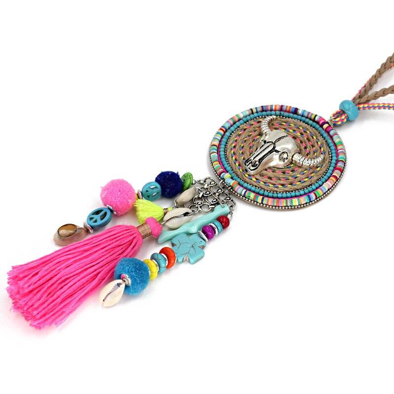 VONNOR Jewelry Handmade Halskette Damen Böhmen Accessoires Quaste - Modeschmuck - Foto 5