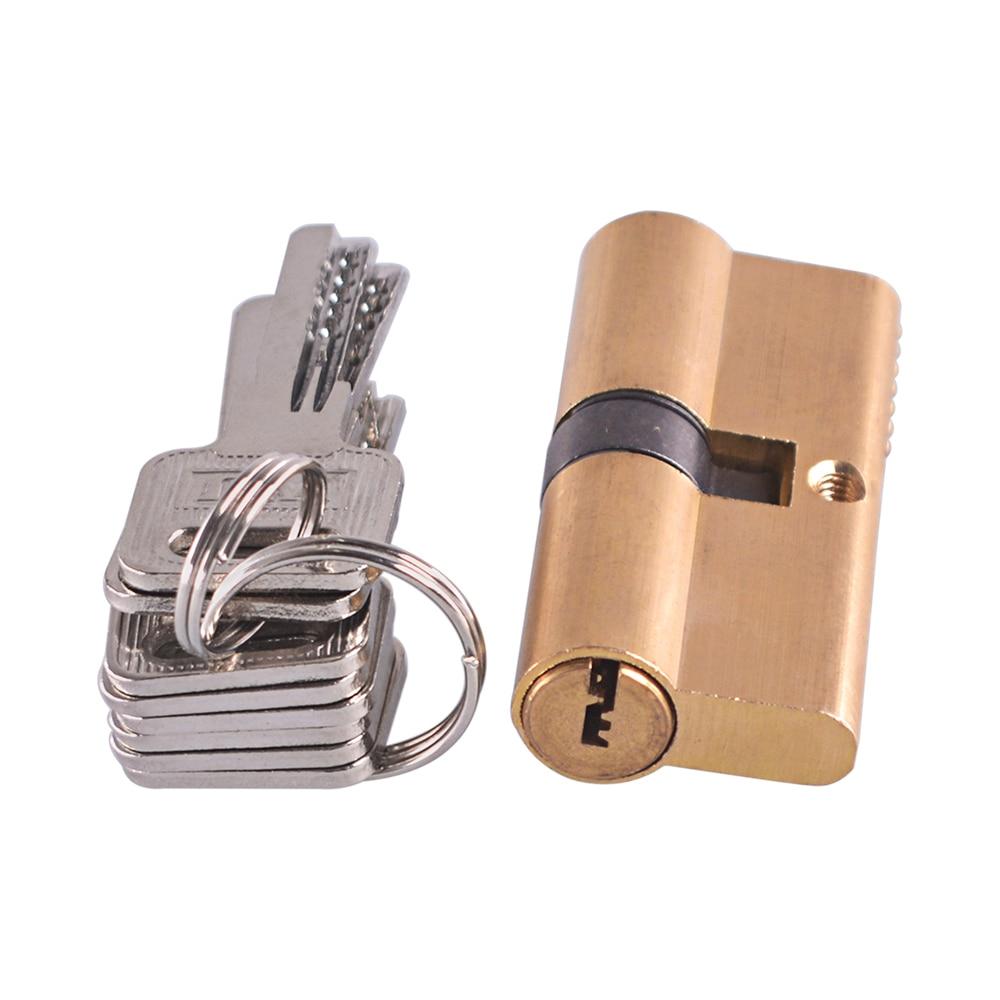 65mm-With-8-Keys-Thumb-Turn-Euro-Profile-Cylinder-Barrel-Lock-Brass-Satin-Nickel-Finish (1)