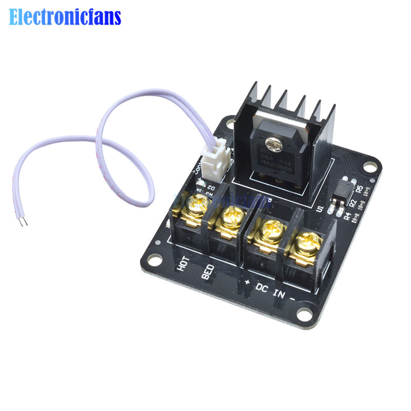 3D Printer Parts General Add-on Heated Bed Power Expansion Module Board High Power Module Expansion Board for 3D Printer
