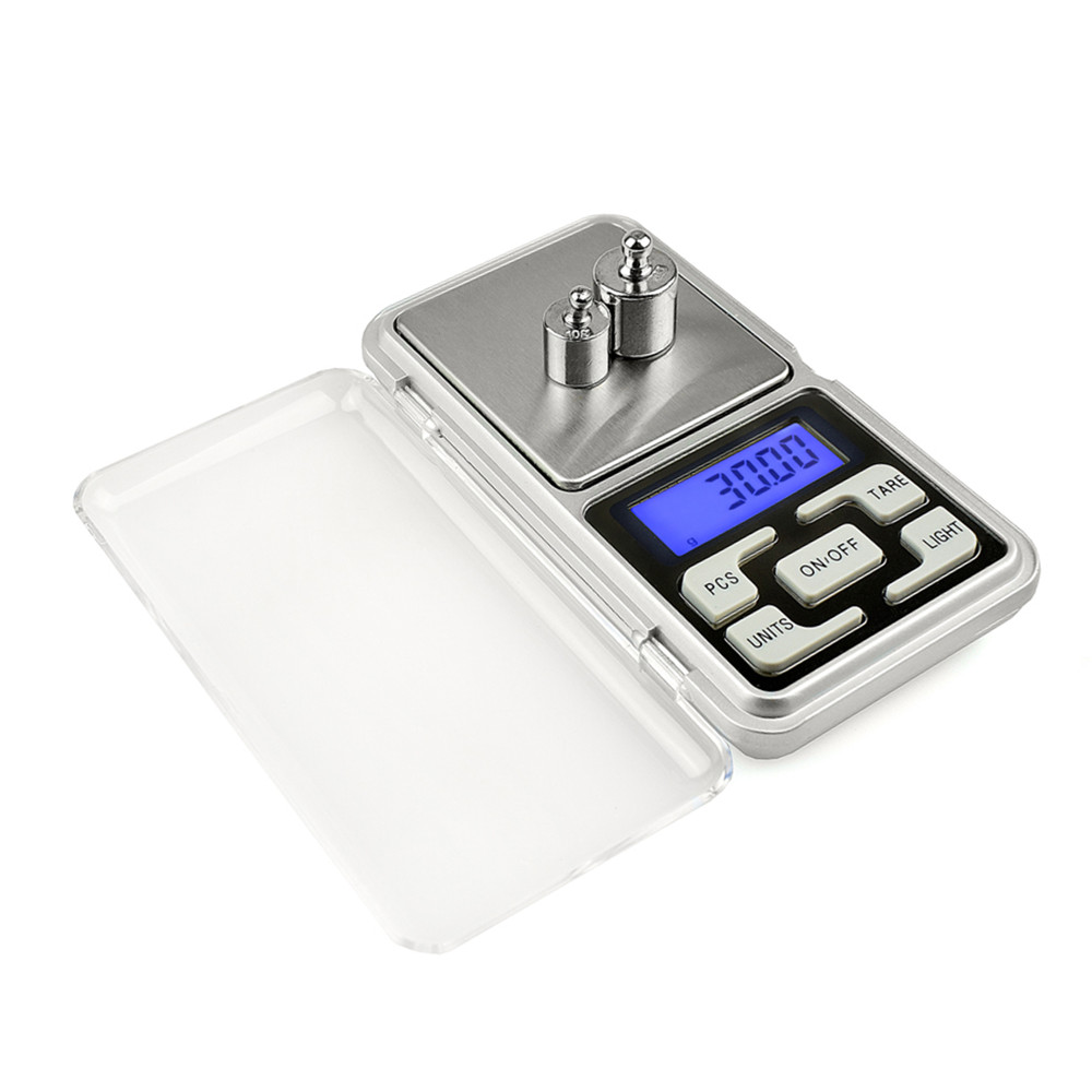 Onnfang Mini Pocket Digital Scale 200g/500g x 0.01g for Gold Sterling Silver Jewelry Scales Balance Gram Electronic Scales mini pocket digital scale 0 01 x 200g silver coin gold jewelry weigh balance lcd