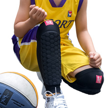 Kuangmi Soccer Shin Guard Kids Calf Compression Sleeve Support Sports Safety Crashproof Football Sock Knee Shin Pad Children 1PC цена