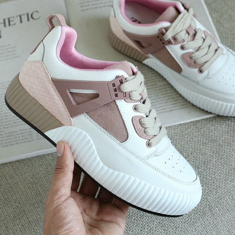 Fashion 2018 summer new joker small white shoes breathable casual shoes leather shoes women's shoes girl casual shoes 2017 new spring imported leather men s shoes white eather shoes breathable sneaker fashion men casual shoes