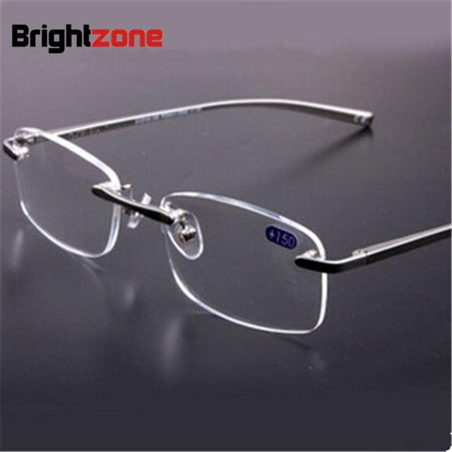 873a248f50 Brand men and women aluminum alloy light reading glasses optical frame prescription  eyeglasses frame +150