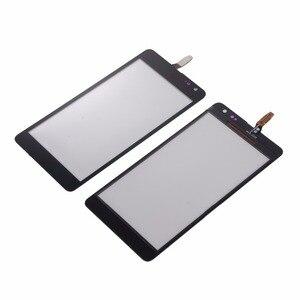 Image 1 - 新しいタッチスクリーンマイクロソフトノキア Lumia N535 535 2C 2 S ハウジング黒スクリーンデジタイザパネルガラス
