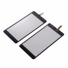 Nowy ekran dotykowy dla Microsoft Nokia Lumia N535 535 2C 2S obudowa czarny szklany panel digitizera