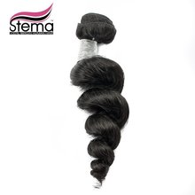 Brazilian Loose Wave Virgin Hair 1pc Sample Order Brizilian Hair Weave Bundles Could be Dyed or Bleached Top Hair Extension