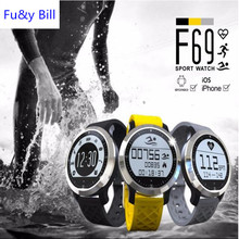 F69 Bluetooth smart Watch IP68 Fitness Tracker Bracelet Heart Rate Monitor & Swimming Wristband for IOS Android