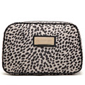 Free Shipping Fashion Nylon Leopard Large Cosmetic Bags Makeup Storage Bag Wash Bags ZZ182