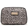 Manera Libre del envío Leopardo De Nylon Grandes Bolsas de Cosméticos de Maquillaje Bolsa de Almacenamiento de Bolsas de Lavado ZZ182