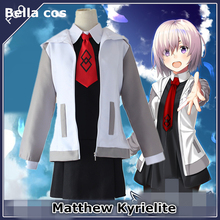 Fate/Grand Order Matthew Kyrielite cosplay costume Daily dress coat skirt