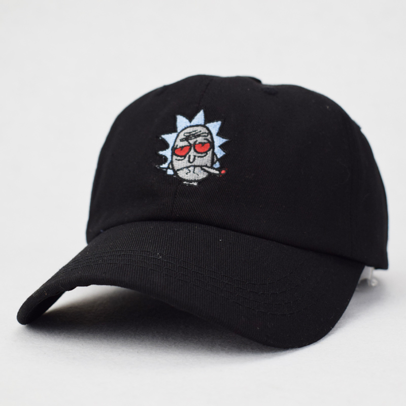 e7d62ad3083 Aliexpress.com   Buy New US Animation Rick Caps Dad Hat Rick and Morty Hats  Unisex Casquette Fashion Cotton Baseball Cap bone Snapback Wholesale from  ...