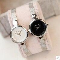 להקת רשת ארוג קטן חיוג נשים שעונים KIMIO מותג קוורץ שעוני יד יוקרה של נשים שעונים גבירותיי מקרית פשוט Femme שעון