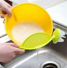 Clean Rice Machine stick Wash rice manual kitchen good helper cooking tools eco-friendly plastic 30*7cm