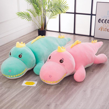 Lovely Cartoon Crocodile Plush Toys Stuffed Animal Doll Toy Soft Plush Pillow  Birthday Gift Send to Children & Friends 1pc how to keep a mummy mii kun plush animal toy 12 40cm lovely stuffed cartoon animal doll kids friends birthday good gift