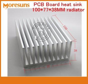 Fast Free Ship 2pcs/lot High quality PCB Board heat sink 100*77*38MM radiator