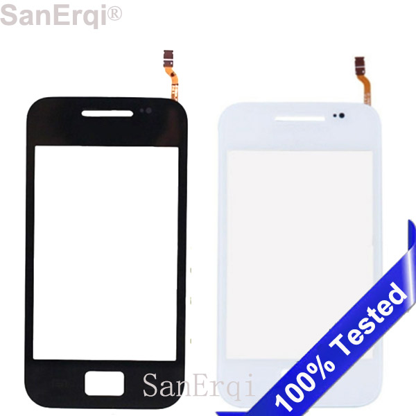 SanErqi 10PCS / LOT For Samsung Galaxy Ace S5830 S5830i GT S5830 Touch Screen Digitizer Sensor Outer Glass Lens Panel