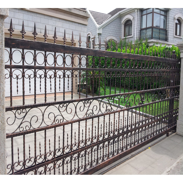 Wrought Iron Sliding Gates Design China Factory In Gates From Home