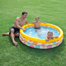 Swimming Pool For Adults Kids Above Ground Inflatable Pool 147cm Swim Toddler Dry Outdoor Indoor Child Garden Pools Accessories цена в Москве и Питере