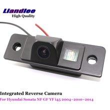 Liandlee For Hyundai Sonata NF GF YF i45 2004 ~ 2010 ~ 2014 Car Reverse Camera Backup Parking Rear View Camera / Integrated HD цена 2017