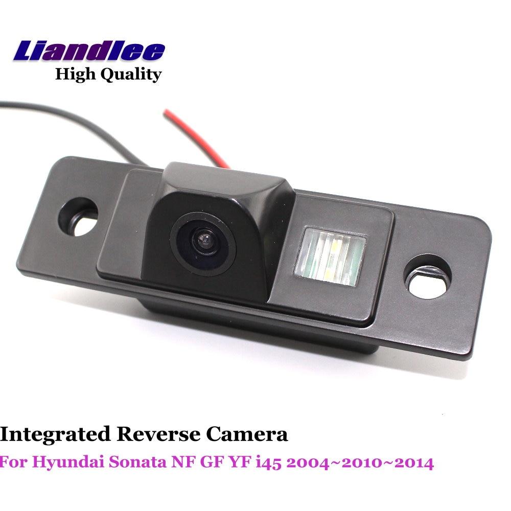 Liandlee Pour Hyundai Sonata NF GF YF i45 2004 ~ 2010 ~ 2014 Voiture Caméra de Recul De Sauvegarde Parking Vue Arrière Caméra/Intégré HD