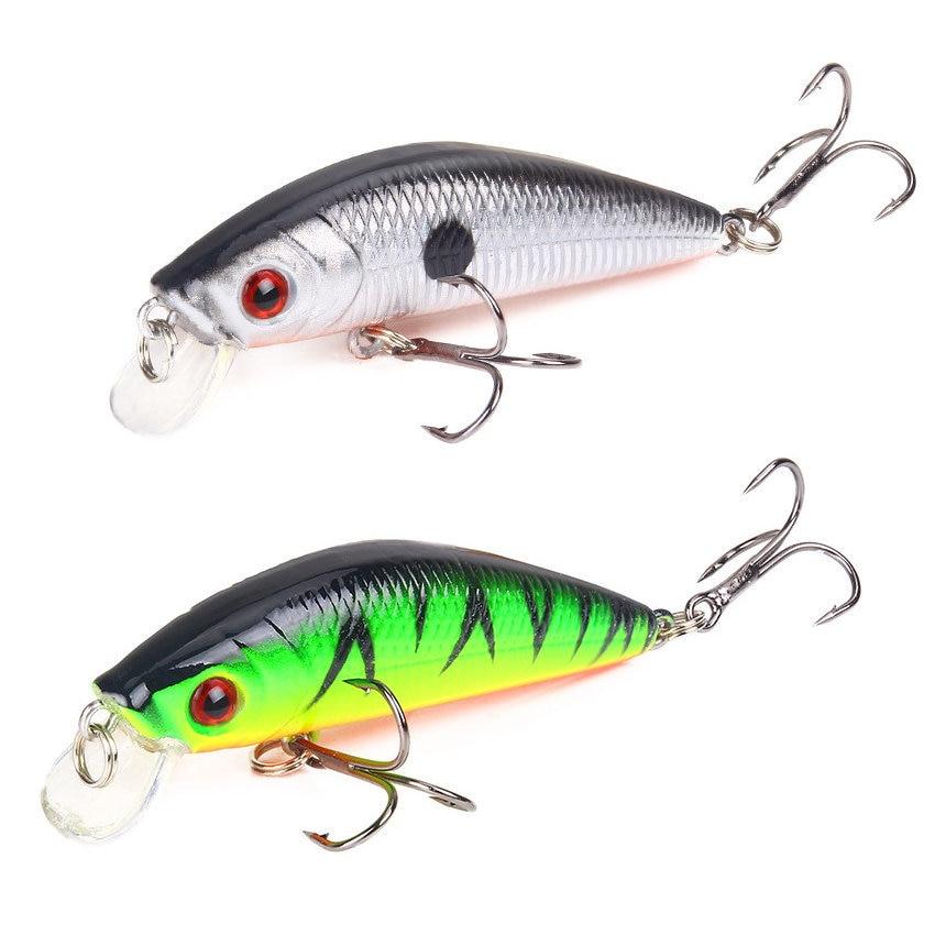 8g 7cm 1pcs Minnow Lure Fishing Tackle Fishing Kit Hard Bait Jig Wobbler Lures Plastic Lure Fish Feeder Fishing Lure