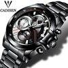 Watch Men Luxury Brand CADISEN Military Sport Quartz Watch Men S Wristwatches Army Clock Men Full